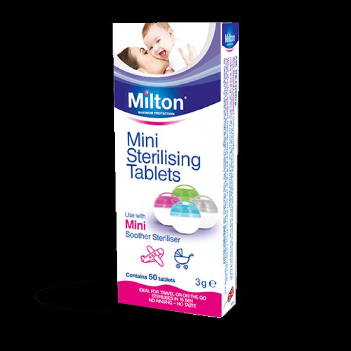 Milton Sterilising Tablets 6 Packs 168  tablets
